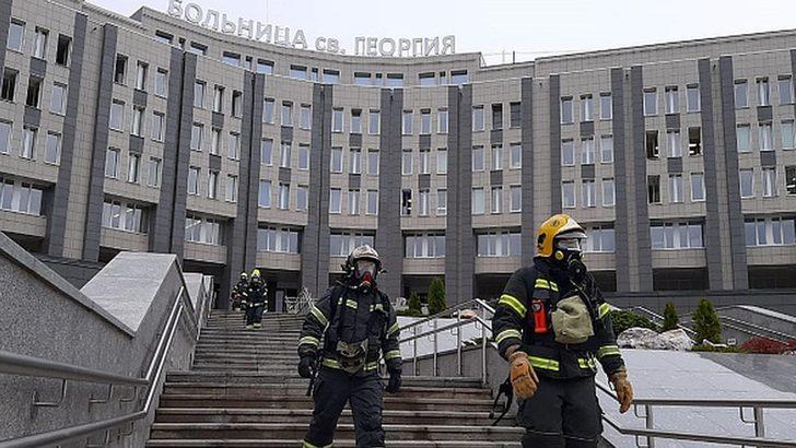 St. Petersburg'da yoğun bakımda yangın çıktı beş koronavirüs hastası öldü