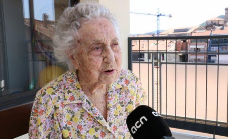 113 yaşında koronayı yendi