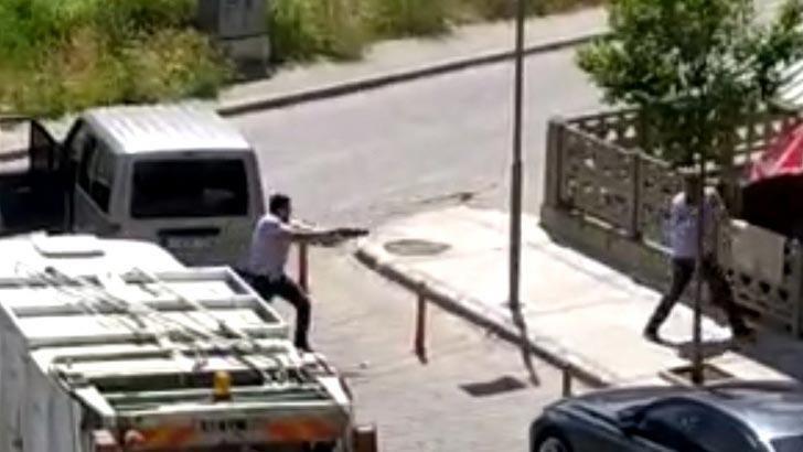 Salihli'de yol ortasında silahlı saldırı düzenleyen şahıs tutuklandı!