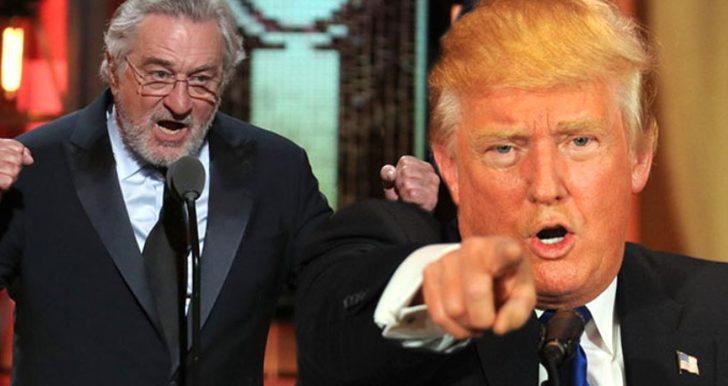 """Robert De Niro, Trump'a """"akıl hastası"""" diyerek, onun koronavirüsten ölen insan sayısını umursamadığını söyledi"""
