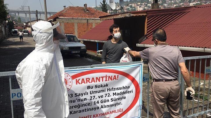 İzmit'te 2 sokak karantinaya alındı!
