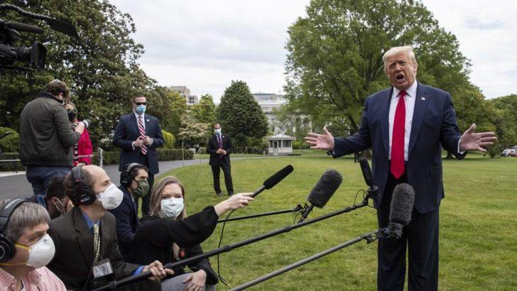 Trump'tan Çin'e Baskıyı Arttırma Sinyali