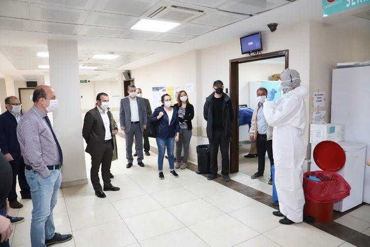 Trabzon'da gazetecilerin Covid-19 testi negatif çıktı
