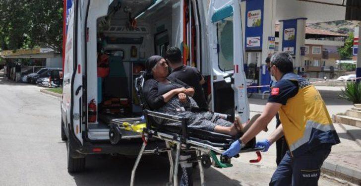 Sokağa çıkan 67 yaşındaki kadın, sıcaktan bayıldı