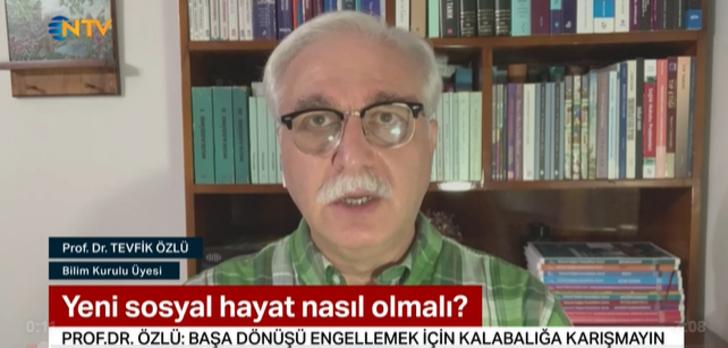 Bilim Kurulu üyesi Prof. Dr. Tevfik Özlü bayramdan sonrasını işaret etti
