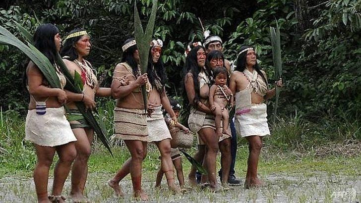 Salgın, Ekvador'daki Amazon yerlilerine de ulaştı