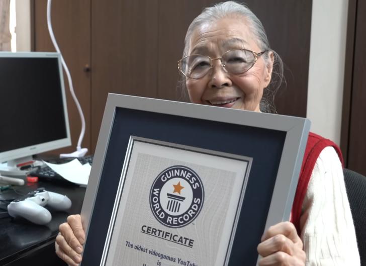 90 yaşındaki Gamer Grandma, Guinness Rekorlar Kitabı'na adını yazdırdı!