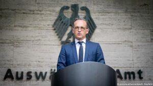 Maas: Yaptırım değil Çin ile diyalog şart