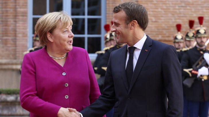 Merkel ve Macron'dan 500 Milyar Euro'luk Yardım Planı