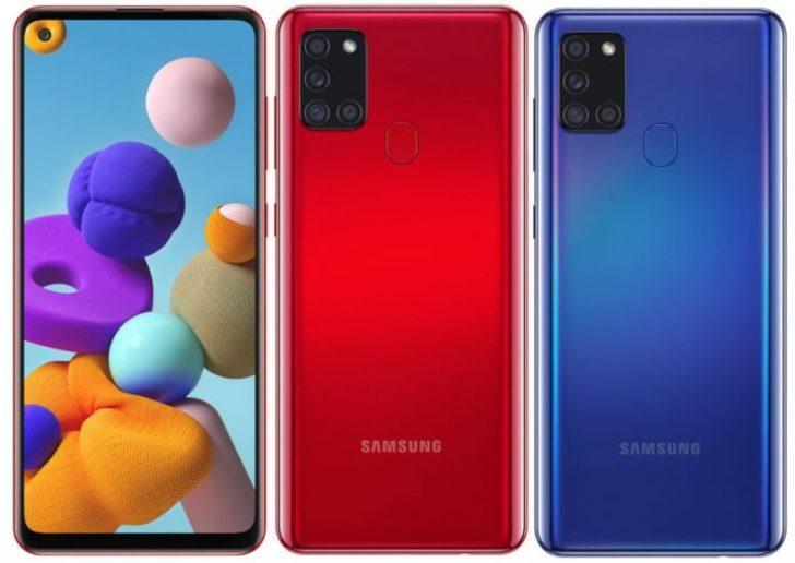 Samsung Galaxy A21 1.500 TL fiyat etiketi ile satışa sunulacak