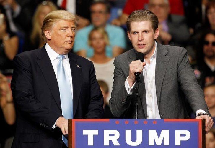 Eric Trump: Virüs seçimden sonra sihirli bir şekilde çekip gidecek