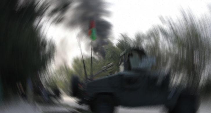 Afganistan'da camiye kanlı saldırı