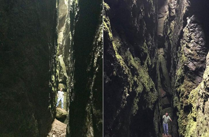 Sakarya'daki saklı kanyon ilk kez görüntülendi