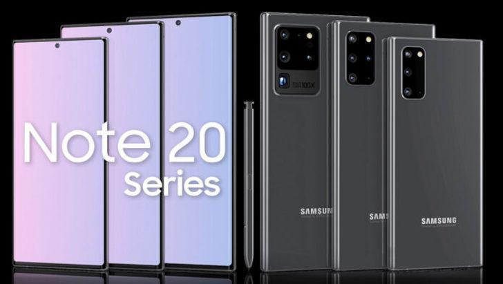 16 GB RAM'li Galaxy Note 20 geliyor