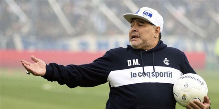 Maradona'nın son hali herkesi şaşırttı