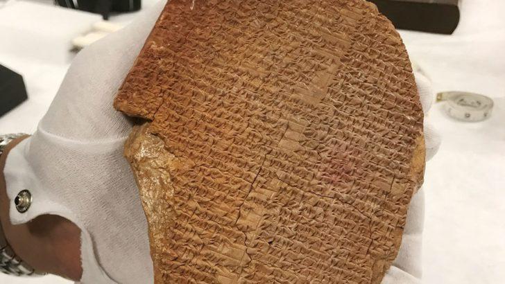 Gılgamış Destanı: ABD'de İncil Müzesi'ndeki destan tableti için dava açıldı