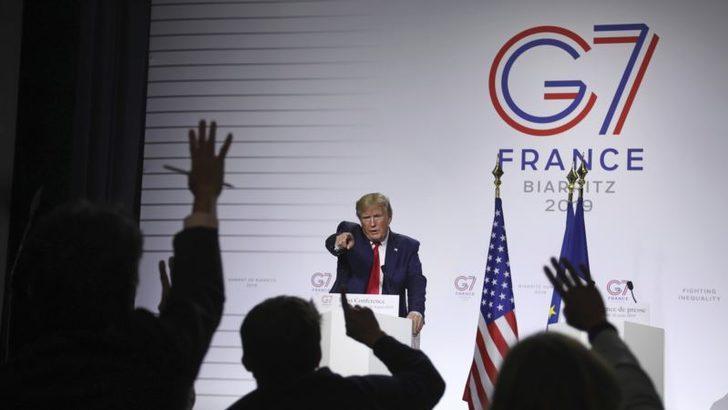 """Trump: """"G7 Zirvesini Yüz Yüze Yapabilirim"""""""