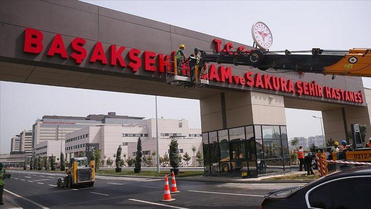 Başakşehir Çam ve Sakura Şehir Hastanesi bugün açılıyor