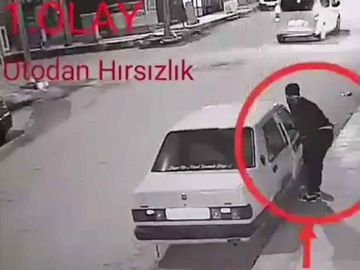 Gaziantep'te bir ilçenin kabusu olan hırsız yakalandı