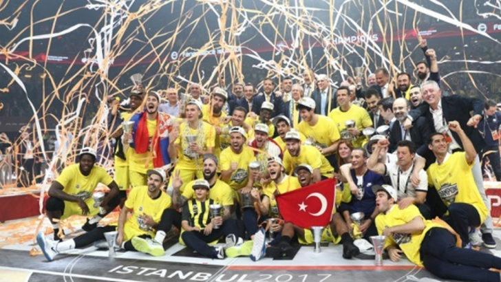 Fenerbahçe, Euroleague şampiyonluğunun 3. yıl dönümünü kutladı
