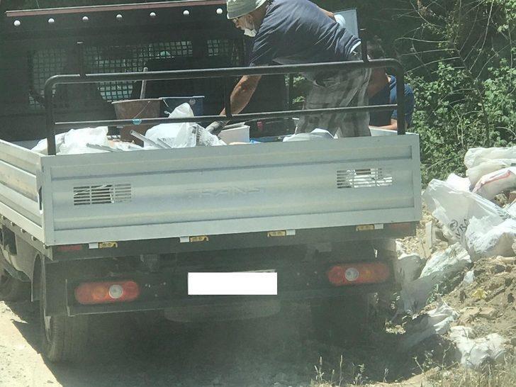 Kuşadası Belediyesinden kaçak moloz ve hafriyata fotokapanlı önlem