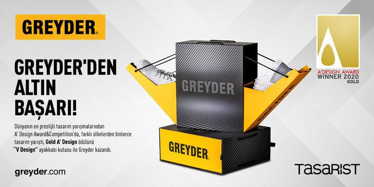 Greyder'e bir ödül de A Design Award'den