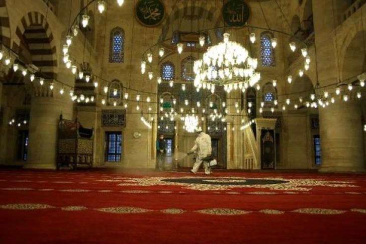 Son dakika: İçişleri Bakanlığı'ndan camilerin açılmasına ilişkin genelge