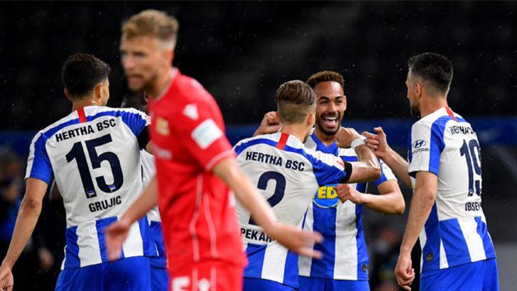 ÖZET   Hertha Berlin - Union Berlin maç sonucu: 4-0