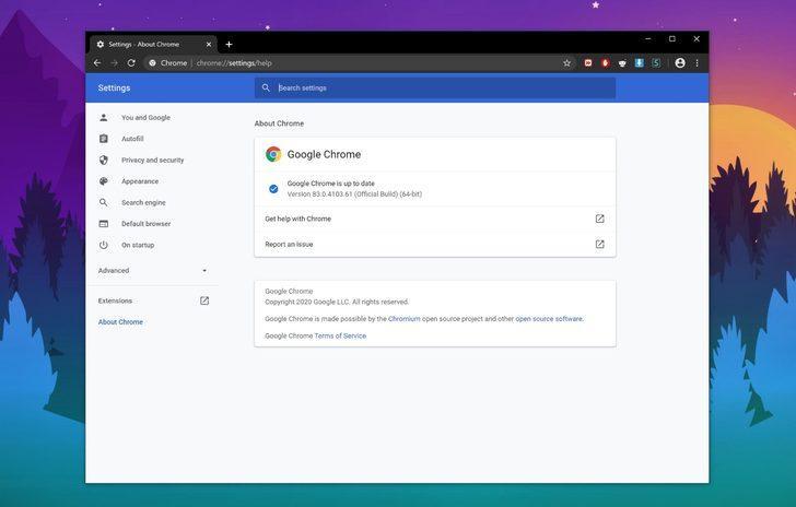 Google Chrome 83 güncellemesi yayınlandı
