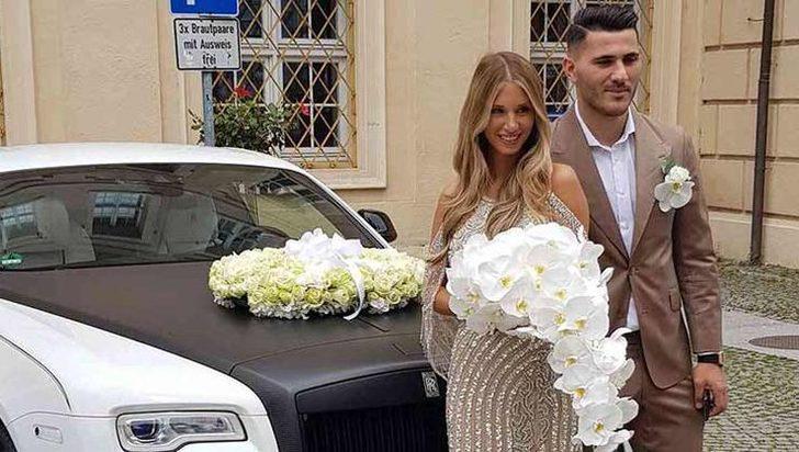 Arsenalli Kolasinac'ın eşi, İngiltere'ye tabanca sokarken gözaltına alındı