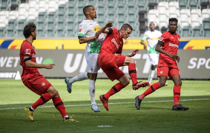 ÖZET | Mönchengladbach: 1 - B.Leverkusen: 3 maç sonucu