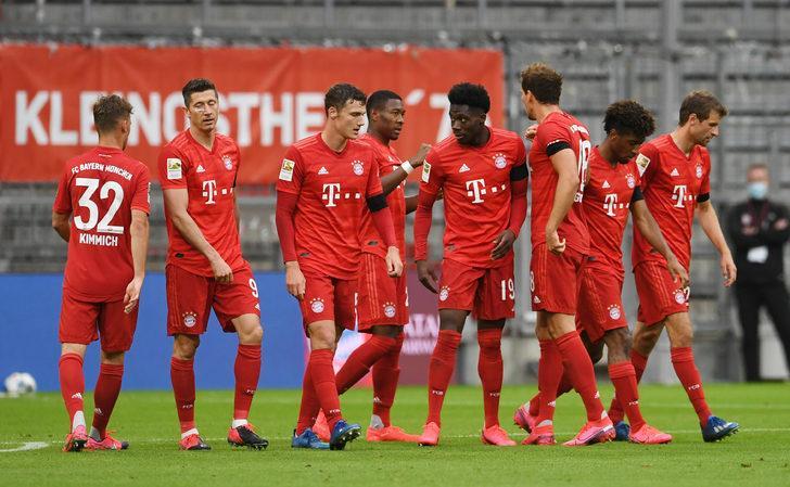 Bayern Münih - Eintracht Frankfurt maç özeti: 5-2