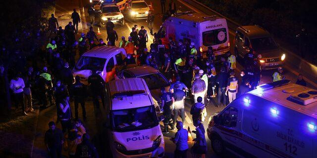 Ankara'da polis uygulama noktasına araç daldı! 6'sı polis 7 yaralı