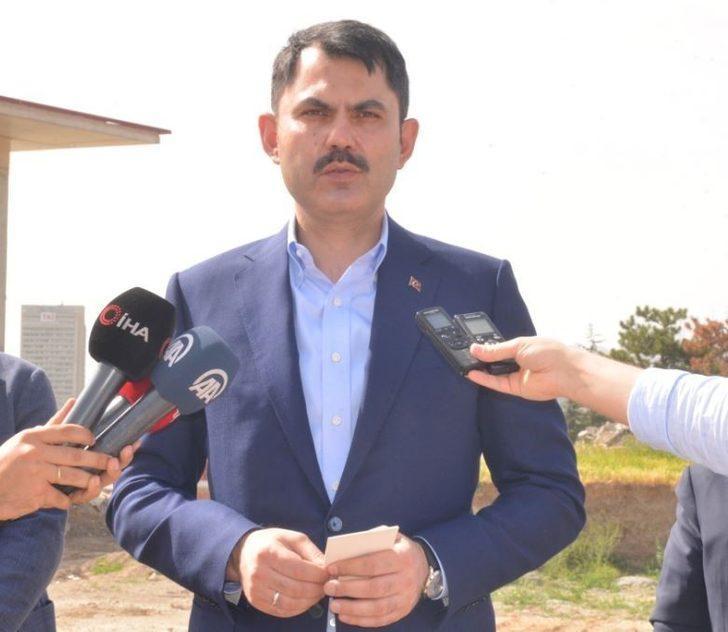 """Bakan Kurum: """"Antalya'da 413 yapının imara aykırı ve izinsiz yapıldığını tespit ettik"""""""