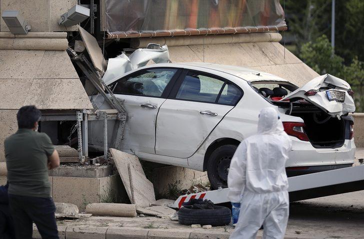Ankara'da feci kaza! Polisten kaçıyordu...