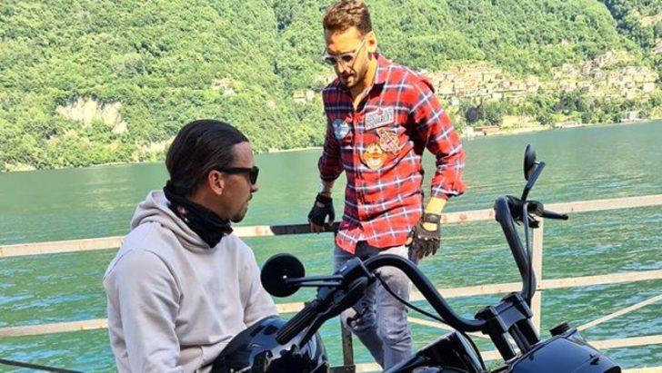 Zlatan Ibrahimovic, Hakan Çalhanoğlu arasından su sızmıyor