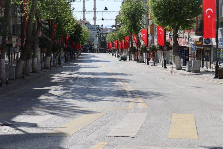Malatya'da kısıtlamanın 4'ncü gününde de sessizlik hakim