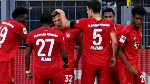 Dortmund 0-1 Bayern: Panzerler Almanya'da üst üste 8. şampiyonluk için avantaj sağladı