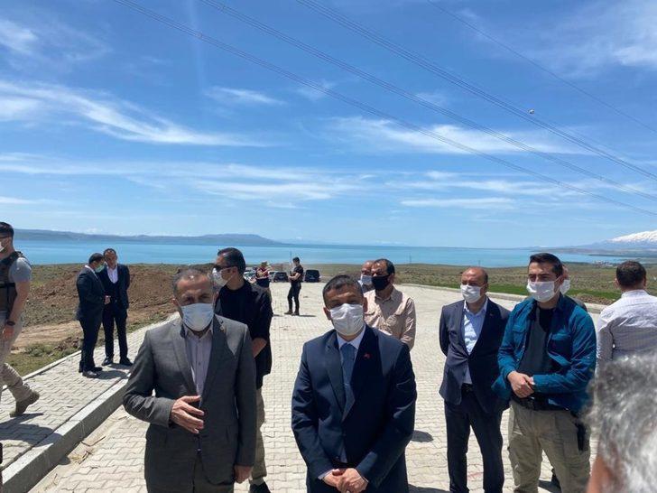 Milletvekili Arvas, Erciş OSB'deki çalışmaları yerinde inceledi