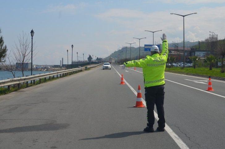 Ordu'da en çok cezayı hız sınırını aşan sürücüler alıyor