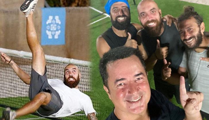 Survivor ayak tenisi maçını kim kazandı? Survivor 2020 mi Acun Medya mı? Acun Ilıcalı paylaştı