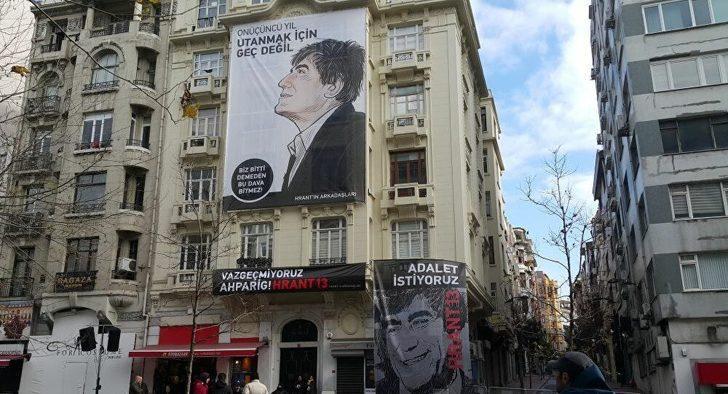 Hrant Dink Vakfı'na yönelik tehdide ilişkin soruşturma