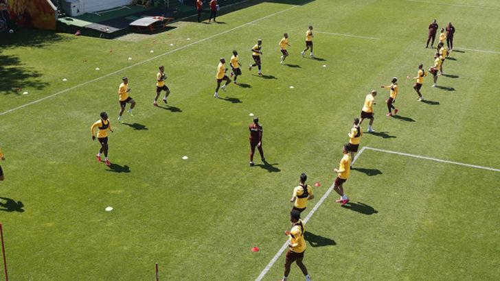 Galatasaray'dan taktik ağırlıklı idman