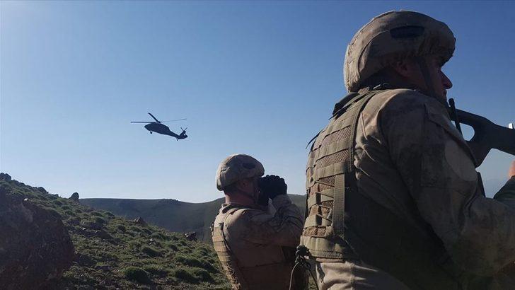 Bitlis'te hava destekli operasyonla 3 terörist etkisiz hale getirildi