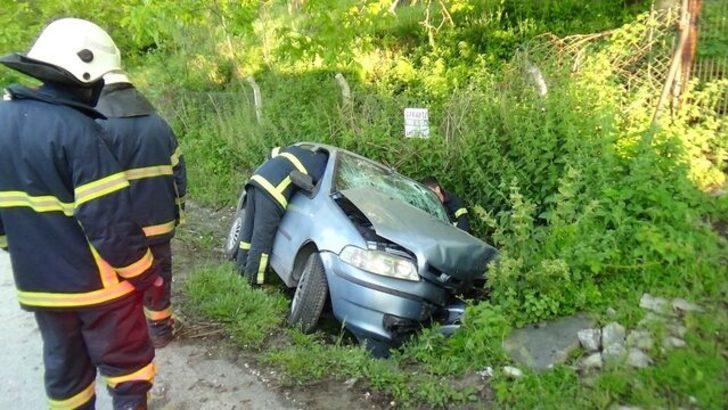 Kütahya'da feci kaza: 2 yaralı