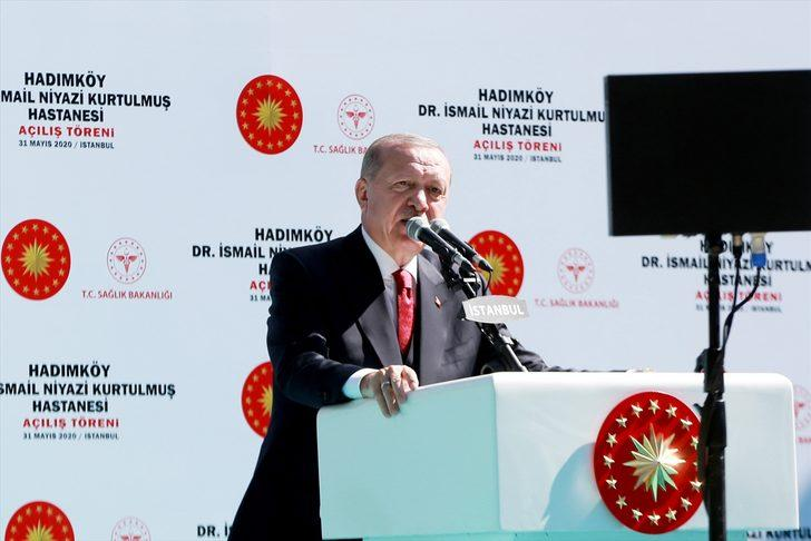 Cumhurbaşkanı Erdoğan Dr. İsmail Niyazi Kurtulmuş Hastanesi açılışında konuştu