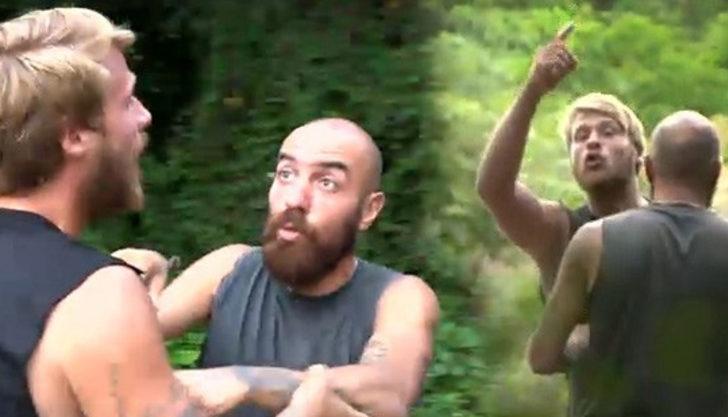 Survivor'da Berkan ile Yunus Emre kavgası! Yarışmacılar araya girdi