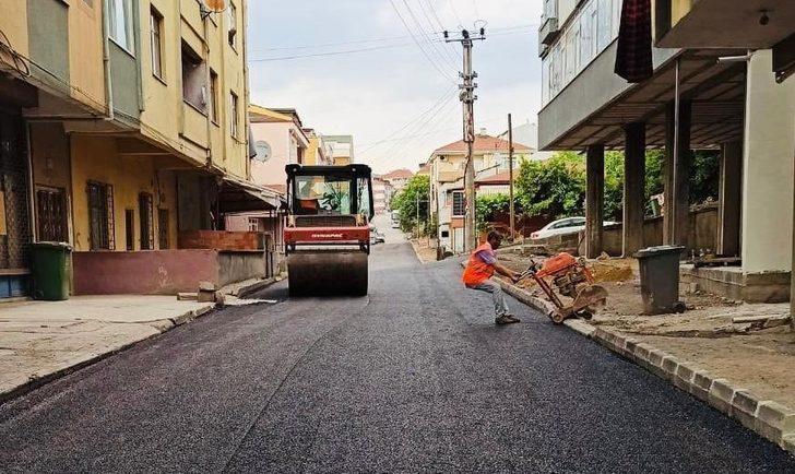 Dalyan Sokak'ta asfalt tamamlandı