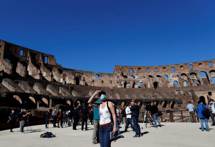 Kolezyum 84 gün sonra ziyaretçilere açıldı