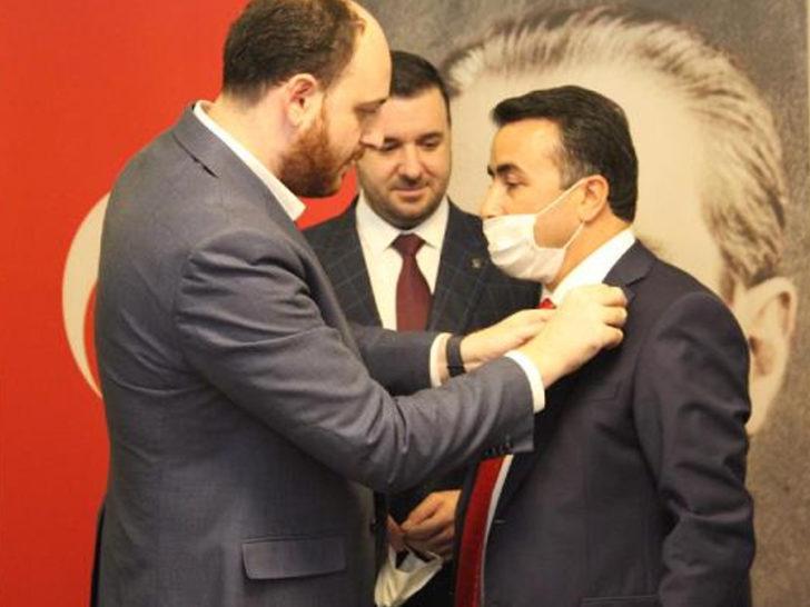 Tavşanlı Belediye Başkanı AK Parti'ye geçti